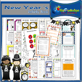 New Year's Activity Book