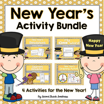 New Years Activity Bundle