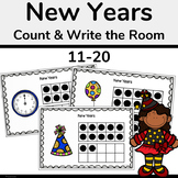 New Years Activity 2020-Count and Write the Room 11-20