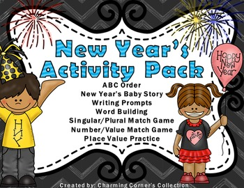 New Year's Activity Pack