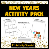 FREE New Years Activity Pack