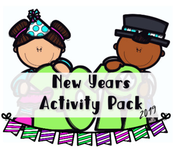 New Years Activity Pack - Happy New Year 2019