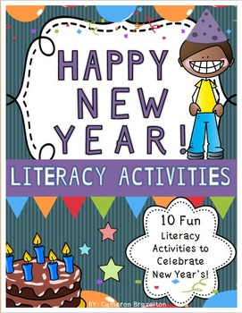 New Year's Activity Pack (Resolutions, Literacy, and More!)