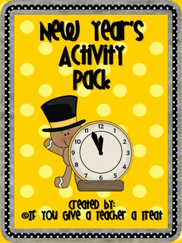New Year's Activity Packet