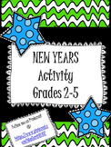 New Years Activity- Resolutions and Goals