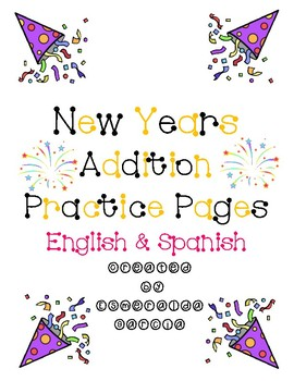 New Years Addition Pages (Eng. & Span.)