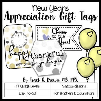 New Years Appreciation Gift Tags