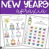 New Years Apraxia Printables