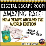 New Year's Around the World DIGITAL Escape Room: Amazing R