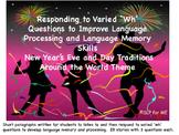 New Year's Around the World - Improving Short-term Memory & Processing Skills