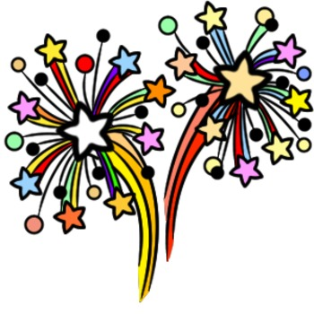 The New Year Assorted clip art [Holiday Pack]