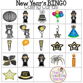 New Year's BINGO!