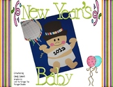 New Year's Baby Craft and Writing Prompts