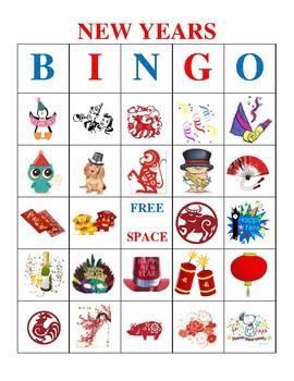 New Years Bingo