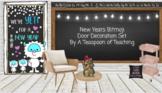 New Years Bitmoji Door Decoration Set