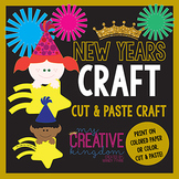 New Years Boy and Girl Craft