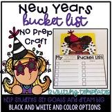 New Years Bucket List--New Years Writing and Craftivity