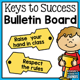 Back to School Bulletin Board Set - Keys for Success