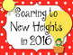 New Years Bulletin Board Set. Soaring to New Heights in 2016