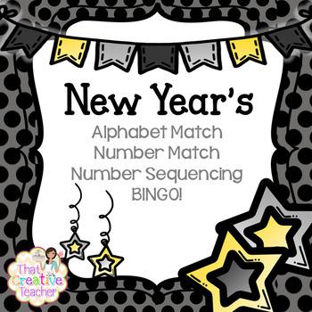 New Year's Lesson Plan Bundle!