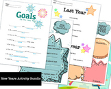 New Year's Activity Bundle *distance learning*