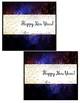 New Years Candy Bar Wrapper