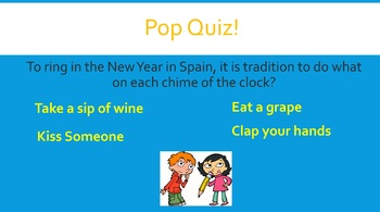 New Years Celebrations From Around the World (Powerpoint)