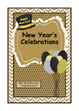 New Year's Celebrations Mini Book