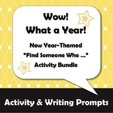 Wow - What a Year! New Year Activity, Classmate Scavenger