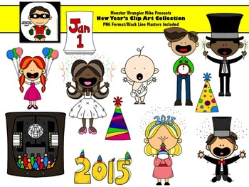 New Year's Clip Art Collection