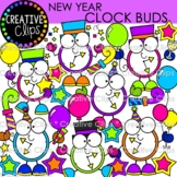 New Years Clipart Buds {New Years Eve Clipart}