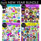 New Years Clipart Bundle {New Year's Eve Clipart}