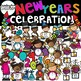 New Years Clipart Growing Bundle {New Years Clipart}