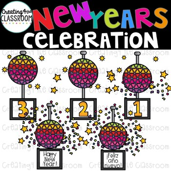 New Years Clipart  {New Years Clip art}