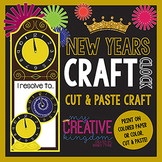 New Years Clock Craft