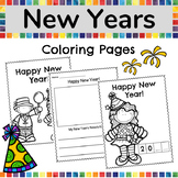 New Years 2019 Coloring Pages