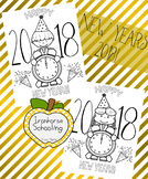 New Years Coloring Pages FREE