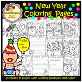 New Years - Coloring Pages (School Designhcf)