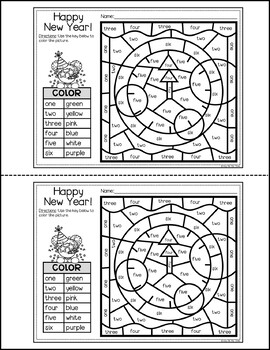 new years resolution coloring pages | New Years 2019 Coloring Pages and Writing Sheets, FREE ...