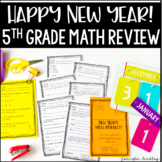 New Year's Math | 5th Grade Grade Math Review: All Common Core Standards