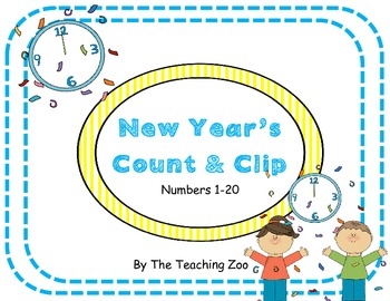 New Year's Count & Clip 1-20