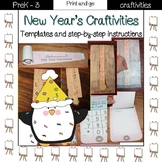 New Years Countdown and Resolution Craft Pack