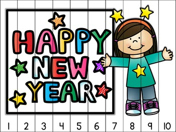 New Year's Counting Puzzles