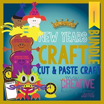 New Years Craft Bundle 1