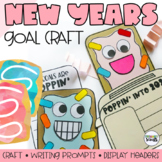 New Years Craft and Writing Activity (Bulletin Board)
