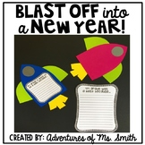 New Years Craft and Writing Activity