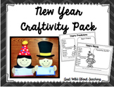 New Year's Writing Craftivity & Printables