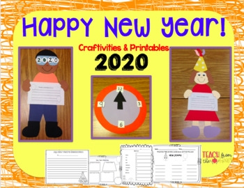 New Year's Craftivity and Printables