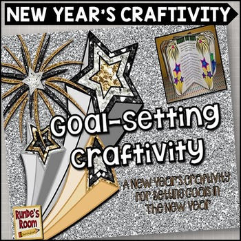 New Year's Craftivity for Goal-Setting