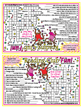 New Years Crossword Puzzle (Puzzle Pals)